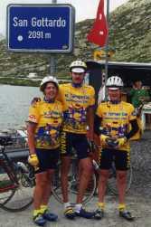 Gotthard 1996 mit Marlies & Wolfgang
